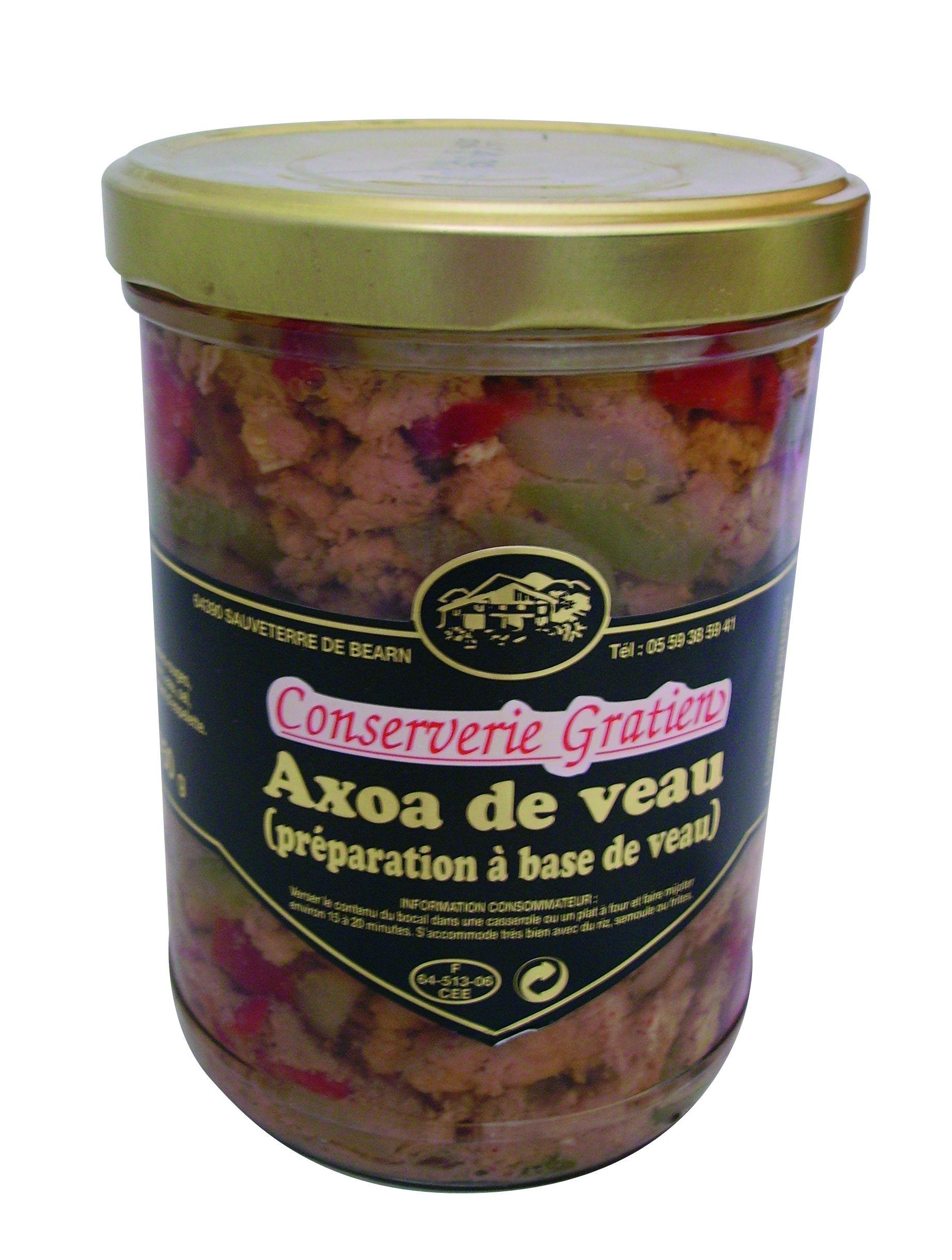 Axoa de veau recette basque
