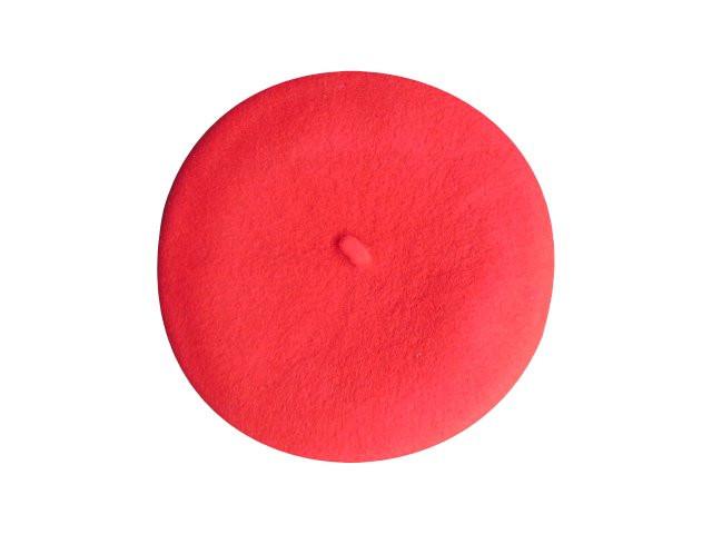 Béret rouge bébé