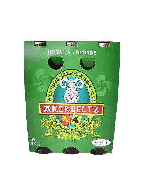 Bière basque blonde Akerbeltz