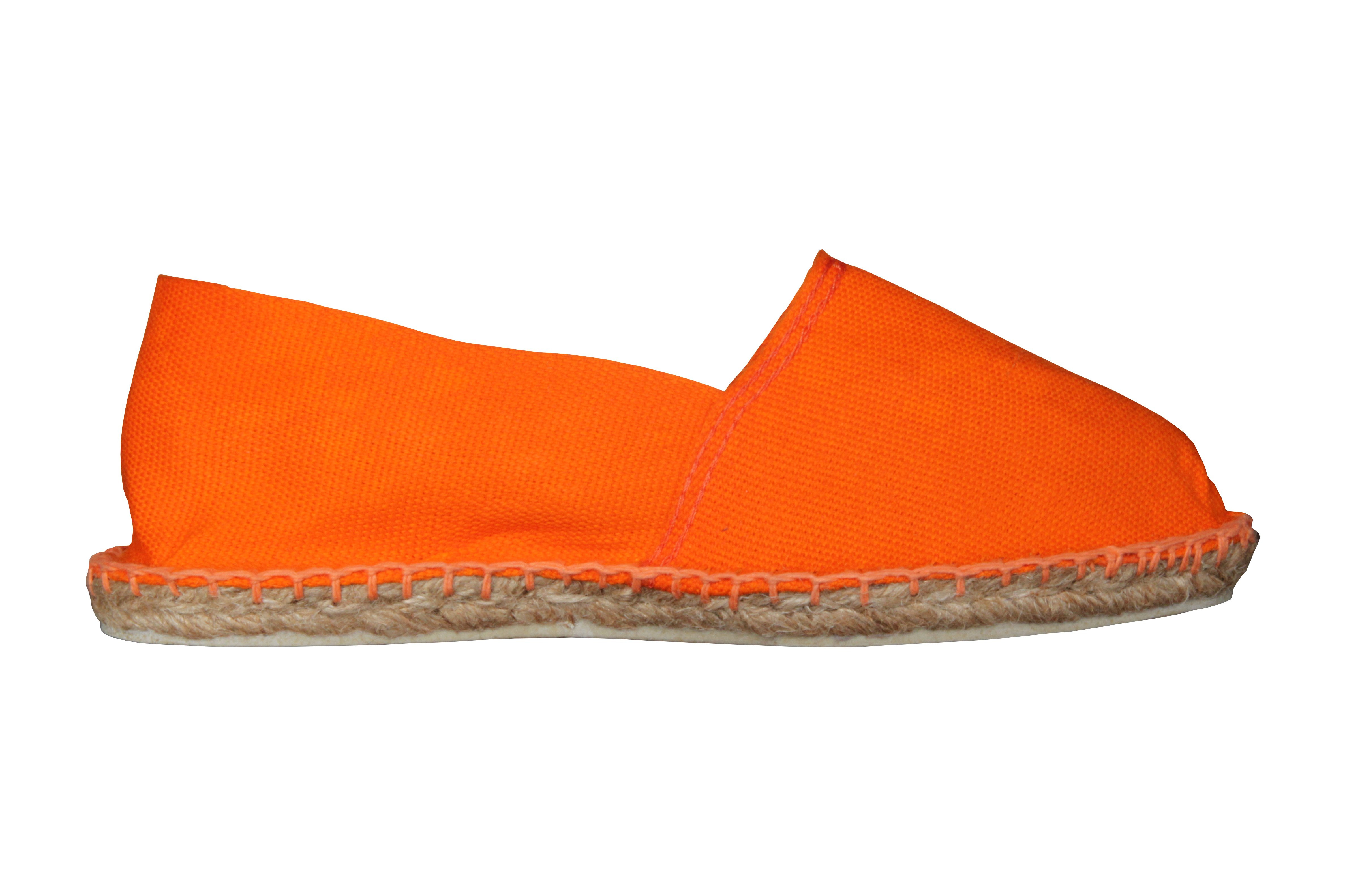 Espadrilles basques orange