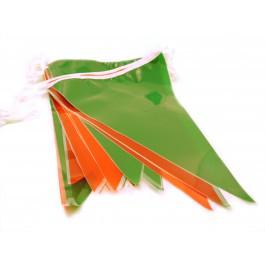Guirlande triangle rouge et vert pour vos fetes basques