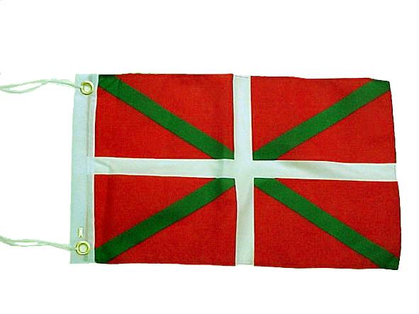 Ikurina, drapeau basque 20 X 30 cm