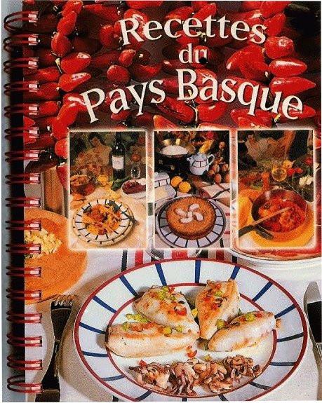 Livre de recettes de cuisine du pays basque
