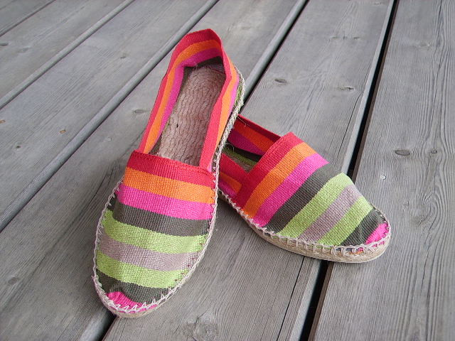 Espadrilles basques Irissarry taille 39