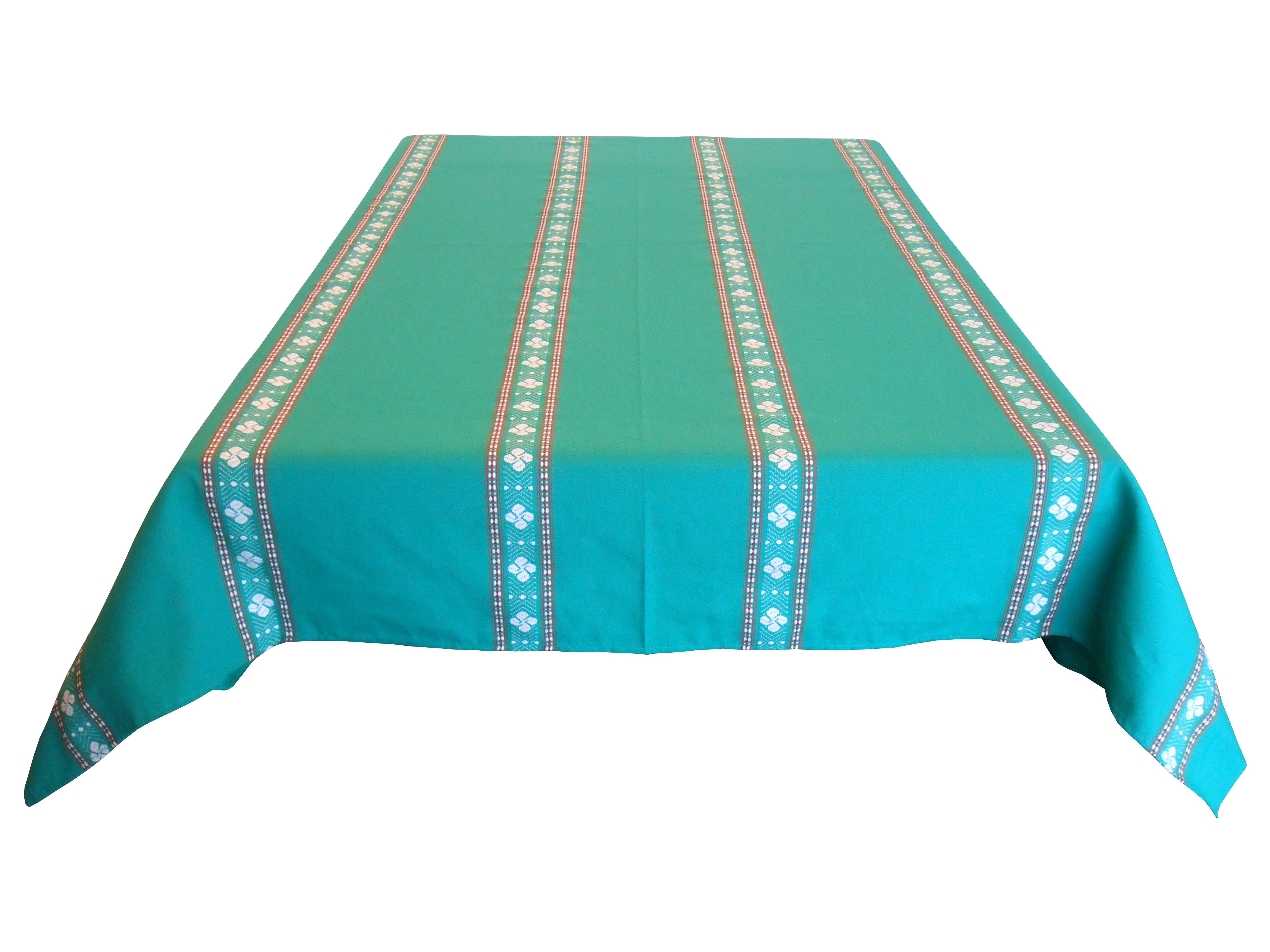 Nappe verte rectangle 170 x 200 cm