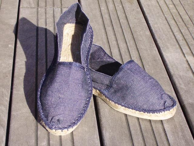 Espadrilles basques jeans taille 45