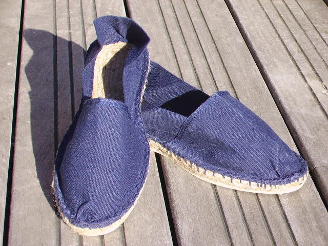 Espadrilles basques marines taille 47