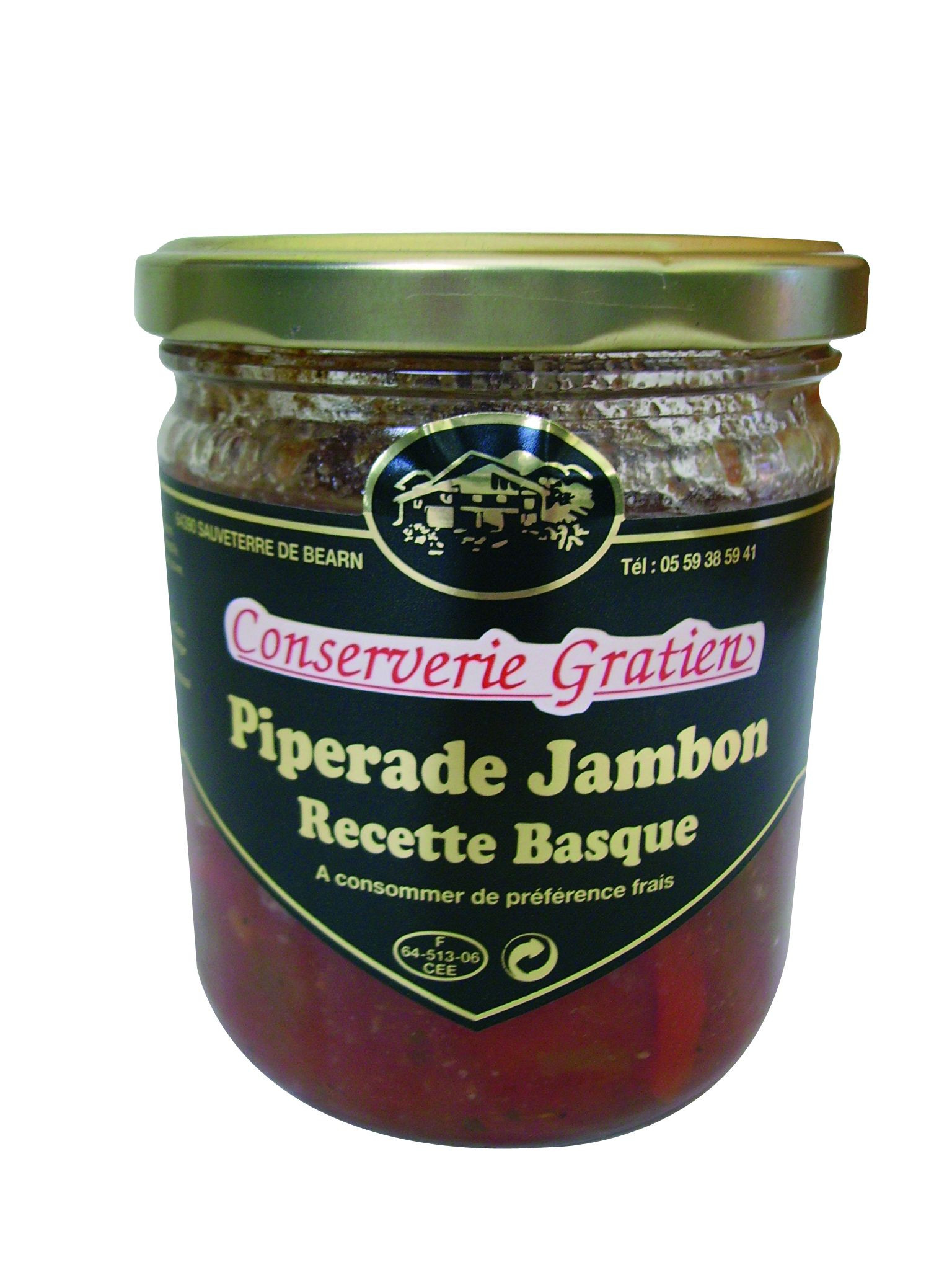 Piperade au jambon