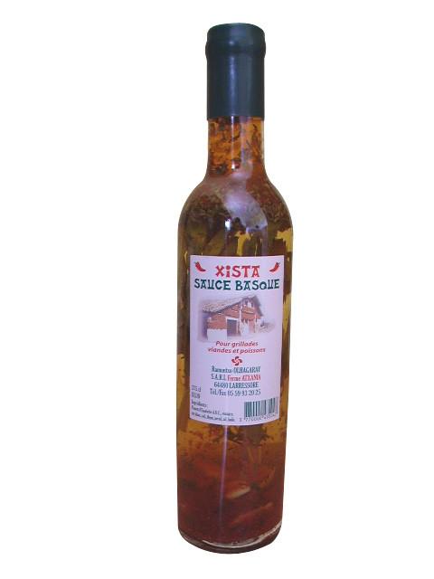 Sauce basque XISTA au piment d'Espelette