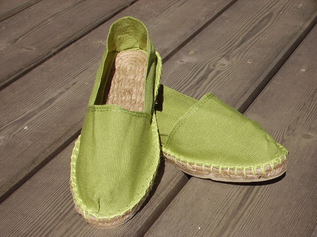 Espadrilles bambou taille 46