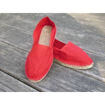 Espadrilles basques rouges taille 46