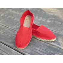 Espadrilles basques rouges taille 39