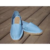 Espadrilles basques bleu ciel taille 47