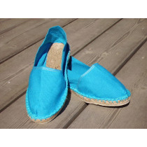 Espadrilles basques turquoise taille 47