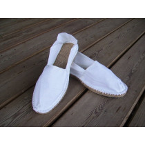 Espadrilles basques blanches taille 47