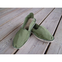 Espadrilles olive taille 45
