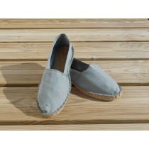 Espadrilles basques grises taille 40