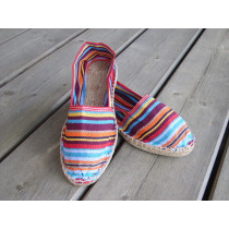 Espadrilles basques rayées Anglet taille 47