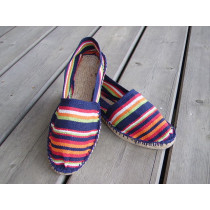 Espadrilles basques rayées Ustaritz taille 47