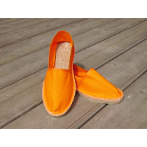 Espadrilles basques orange taille 44