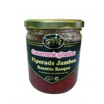 Piperade au jambon