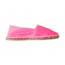 Espadrilles basques rose fluo