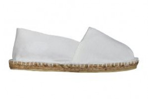 Espadrilles basques blanches