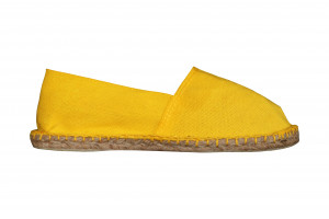 Espadrilles jaune citron