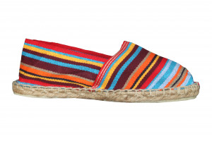 Espadrilles basques rayées Anglet
