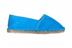 Espadrilles basques turquoise